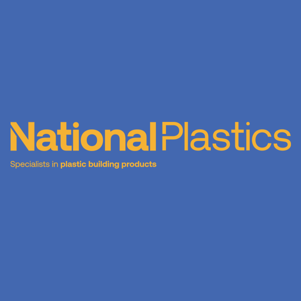 100mm White Ogee Plastic Skirting Board from National Plastics