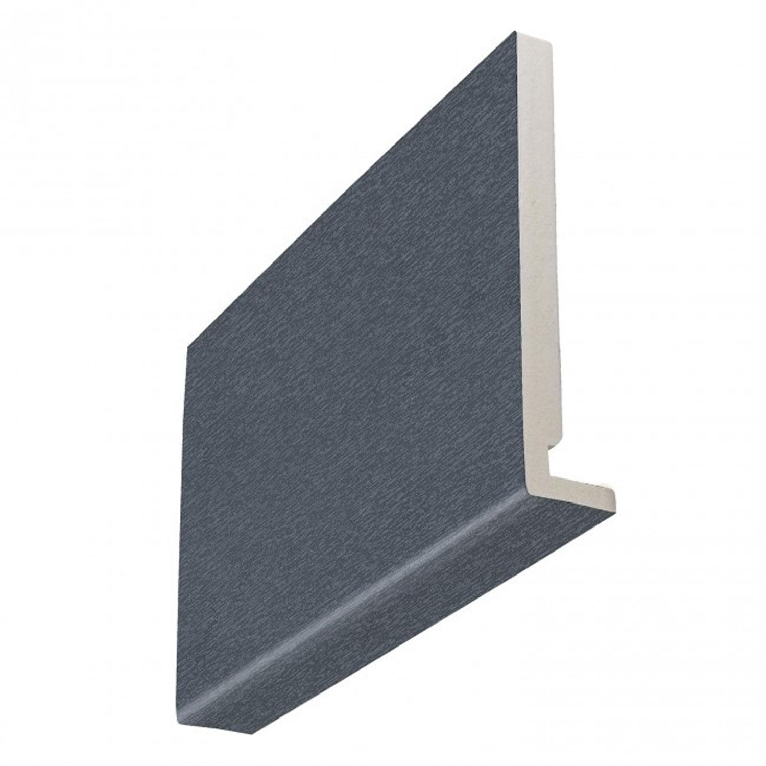 16mm Square Anthracite Grey Woodgrain Fascia Boards