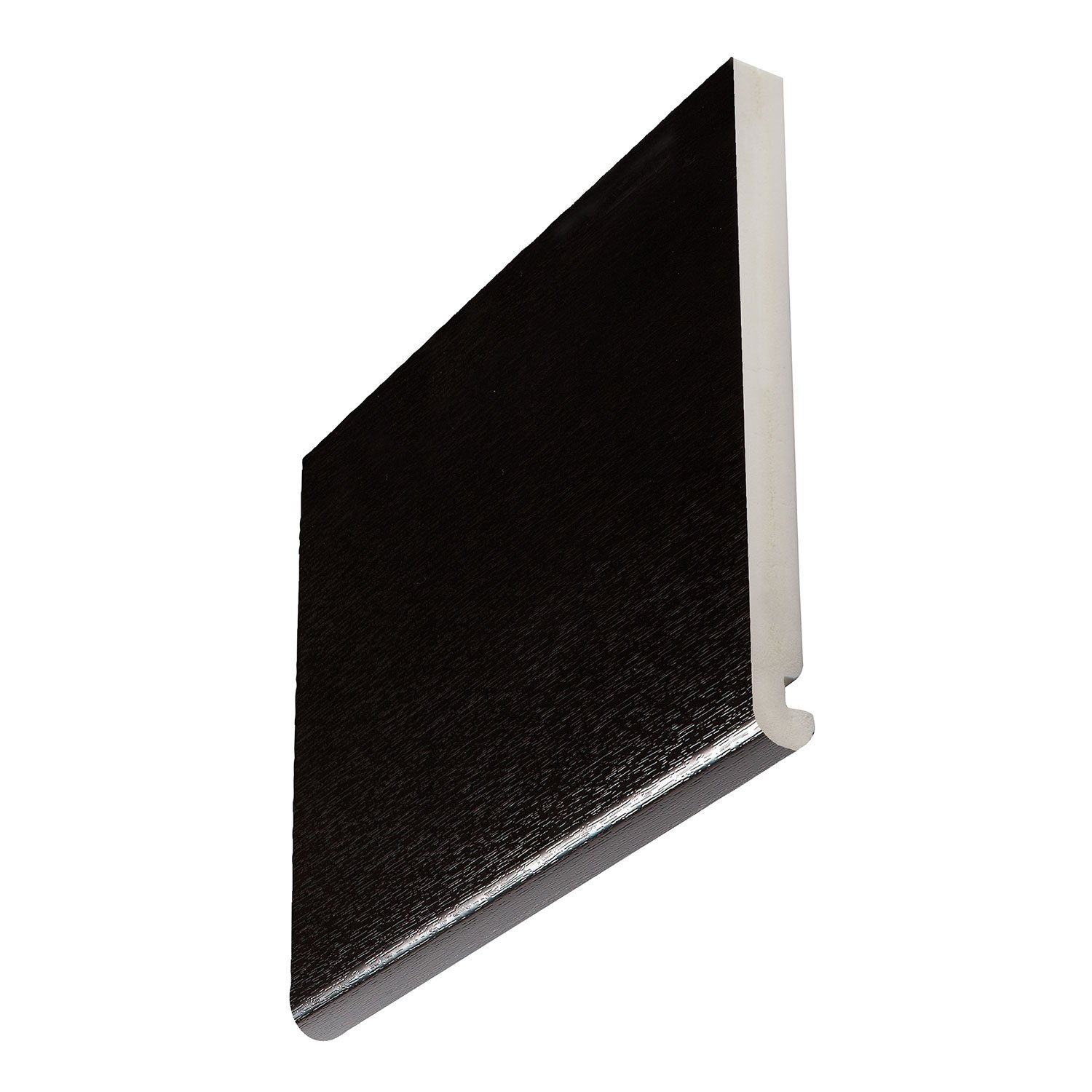 22mm Roundnose Black Ash Fascia Boards