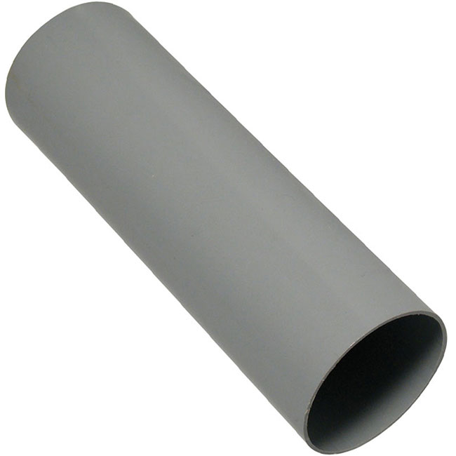 Grey 68mm Round Downpipes