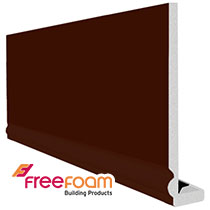 10mm Ogee Leather Brown Fascia Boards