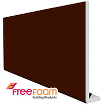 10mm Plain Leather Brown Fascia Boards