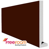 18mm Square Leather Brown Magnum Fascia Boards