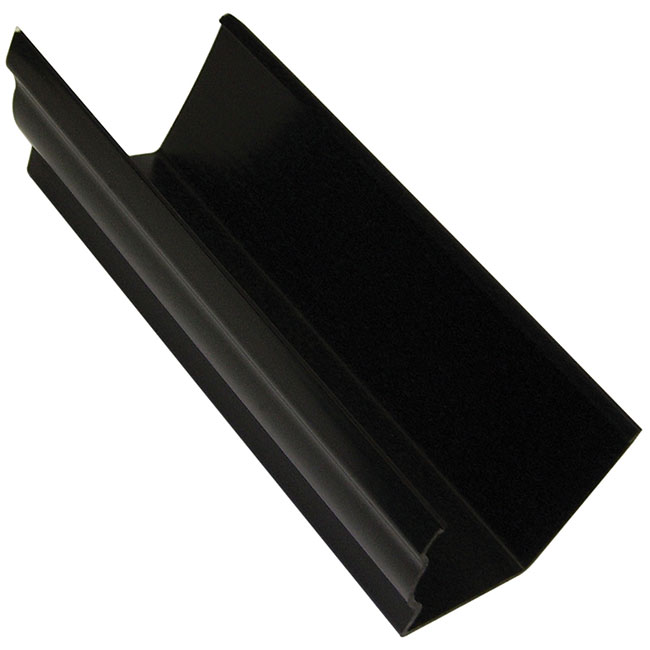 Black 120mm Ogee Guttering
