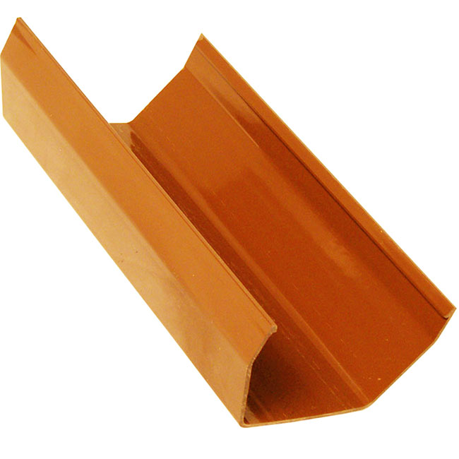 Caramel 117mm Square Guttering