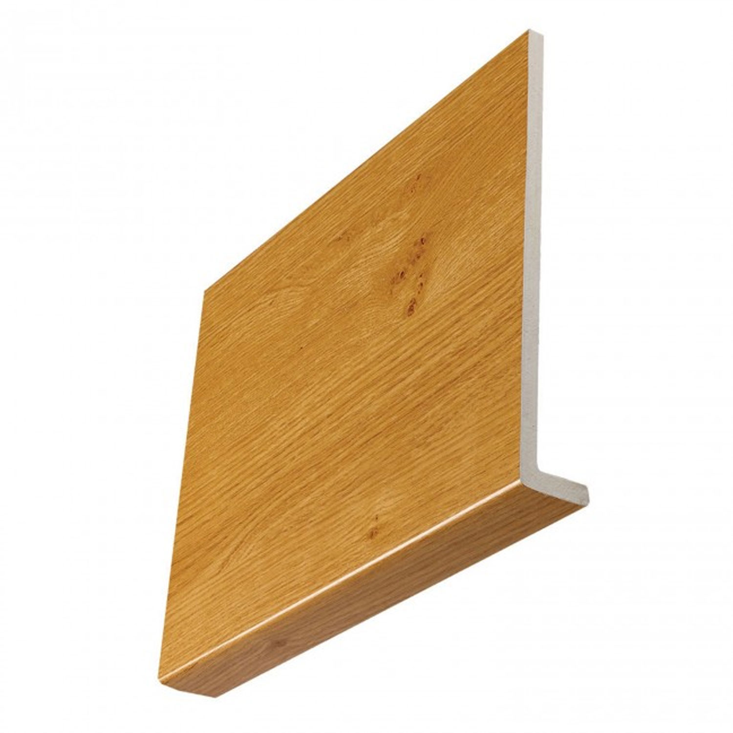 9mm Square Irish Oak Fascia Boards