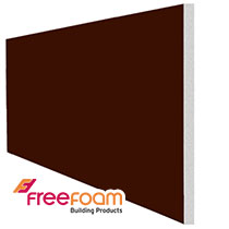 Leather Brown Soffit Boards