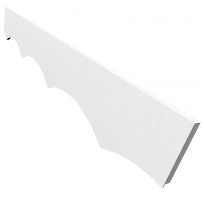 White Fascia Board Decorative Accessories