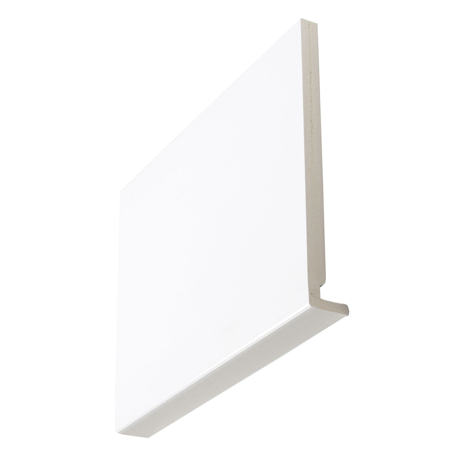 18mm Square White Magnum Fascia Boards