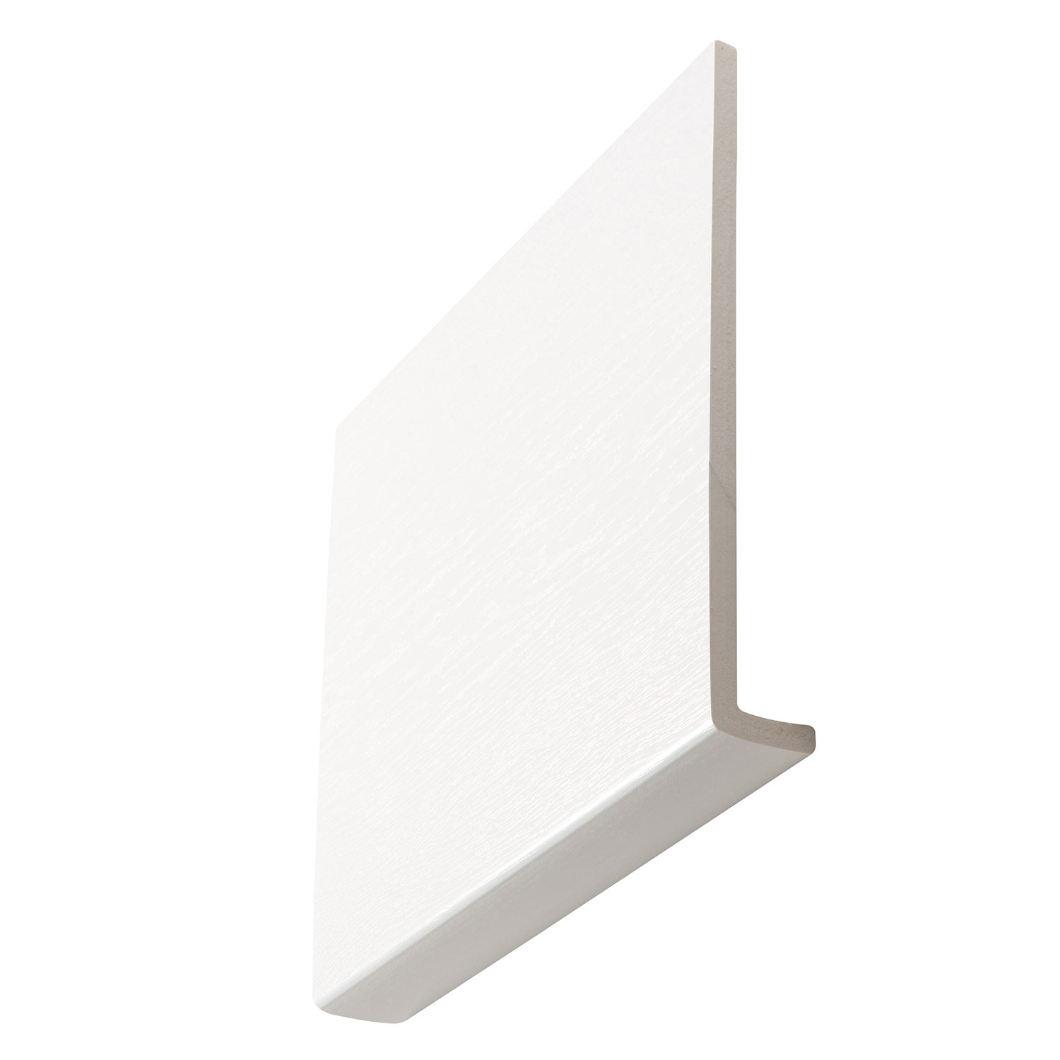 White Woodgrain Fascia Boards